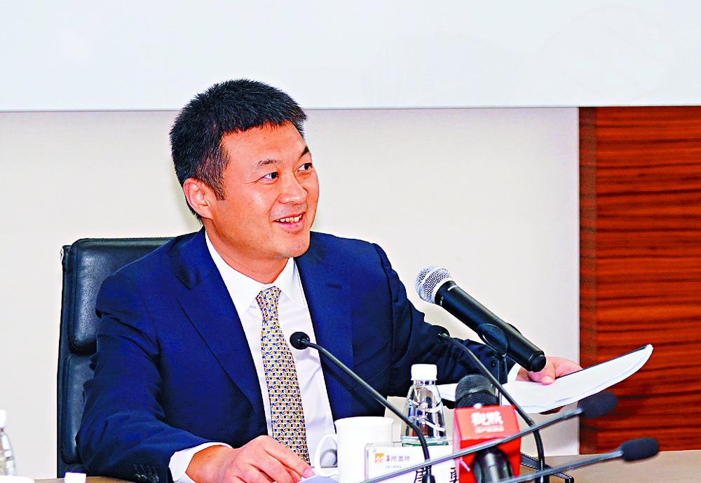 China Resources Land chairman Tang Yong. SING TAO