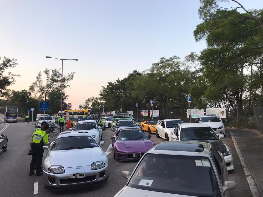 Anti-racing cops seize 13 cars