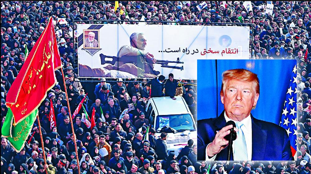 Donald Trump's assassination call on Qasem Soleimani has the Middle East on tenterhooks.