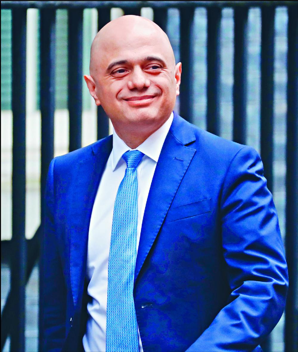 Sajid Javid's resignation throws Boris Johnson's plans off kilter.  AFP