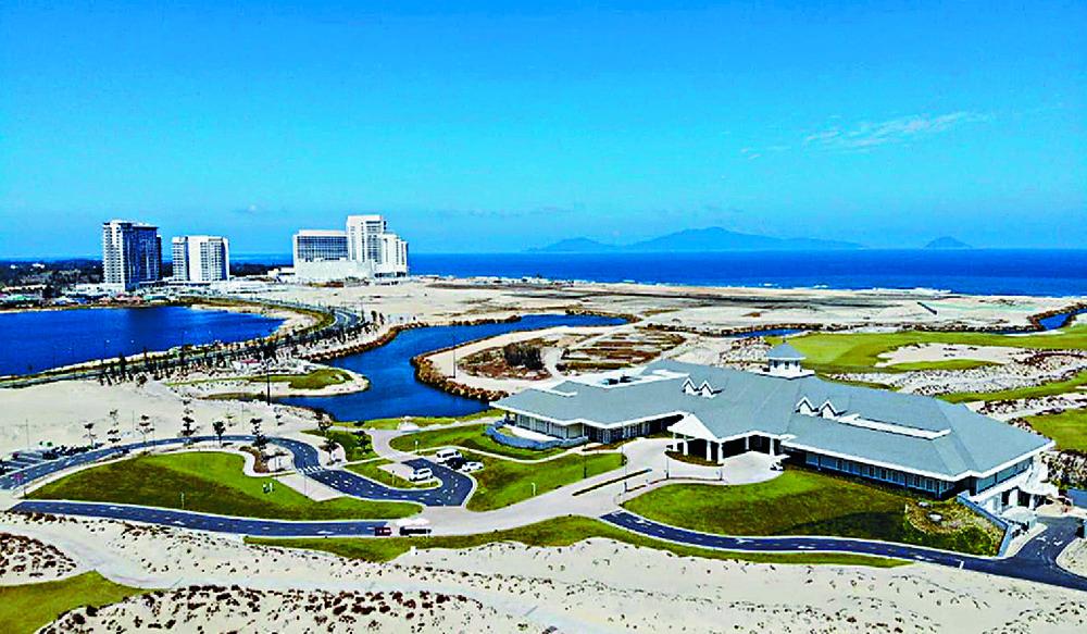 Hoiana's superstructure has been built . SING TAO