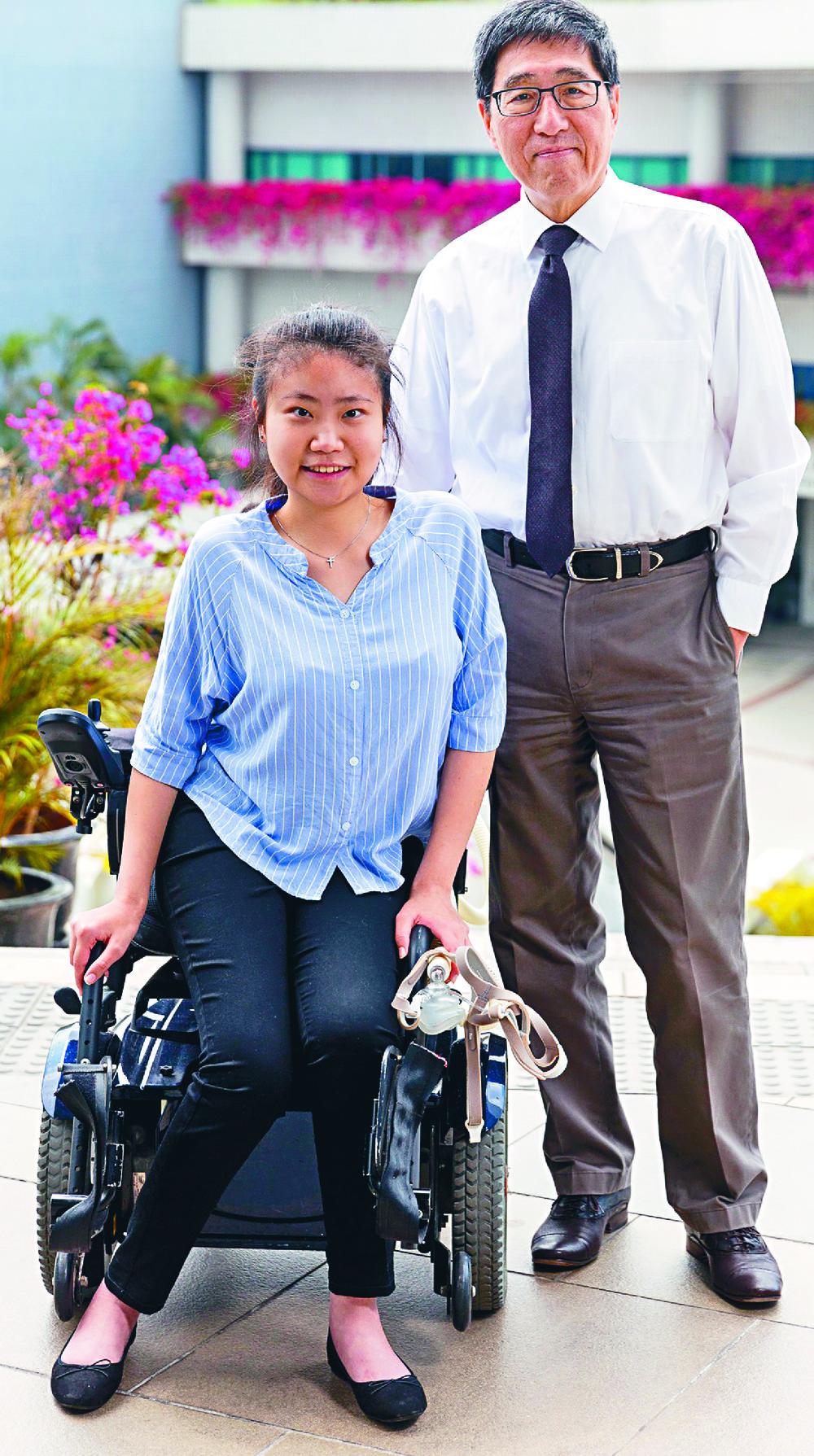 Hung Mei-ki with Way Kuo.
