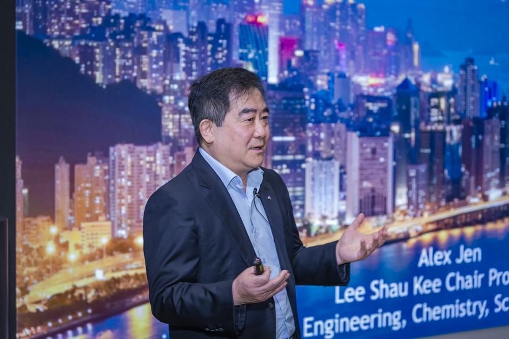 Professor Alex Jen, Lee Shau-Kee Chair Professor of Materials Science, CityU