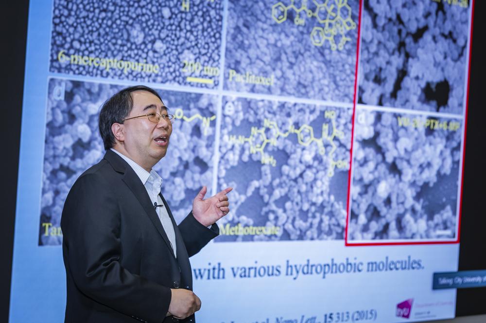 Professor Chun-Sing Lee, Chair Professor of Materials Chemistry, CityU