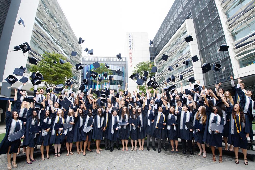 Graduation of 2018 in Stamford American International School Singapore