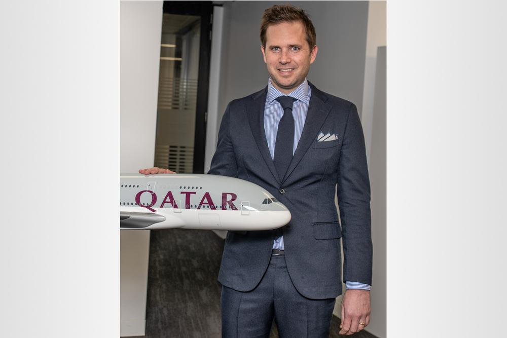 Thomas Scruby, Qatar Airways Vice President of Sales for Australasia & North Asia