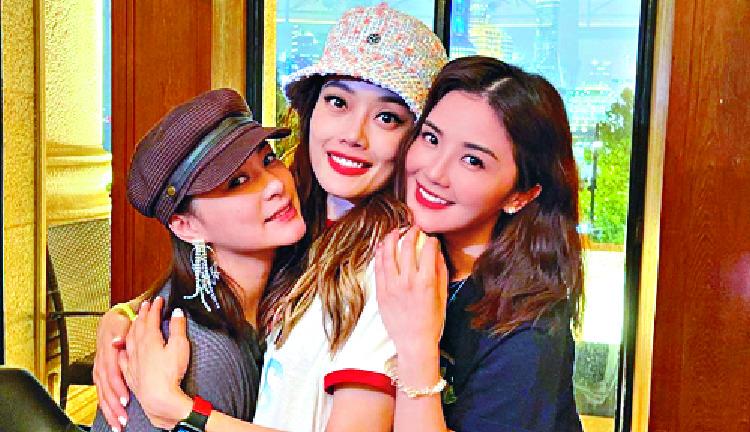 Gillian Chung, Joey Yung and Chalene Choi.