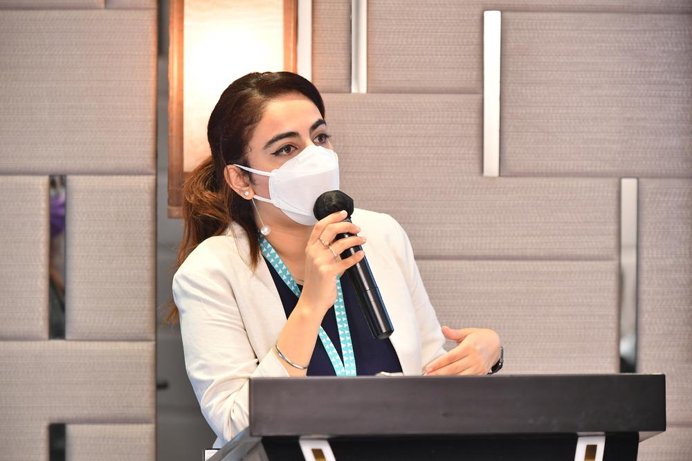 Mandy Kaur, principal of the Fo Tan campus