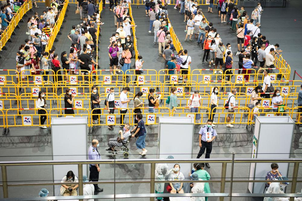 Citywide testing is progressing well, Macau authorities said. XINHUA