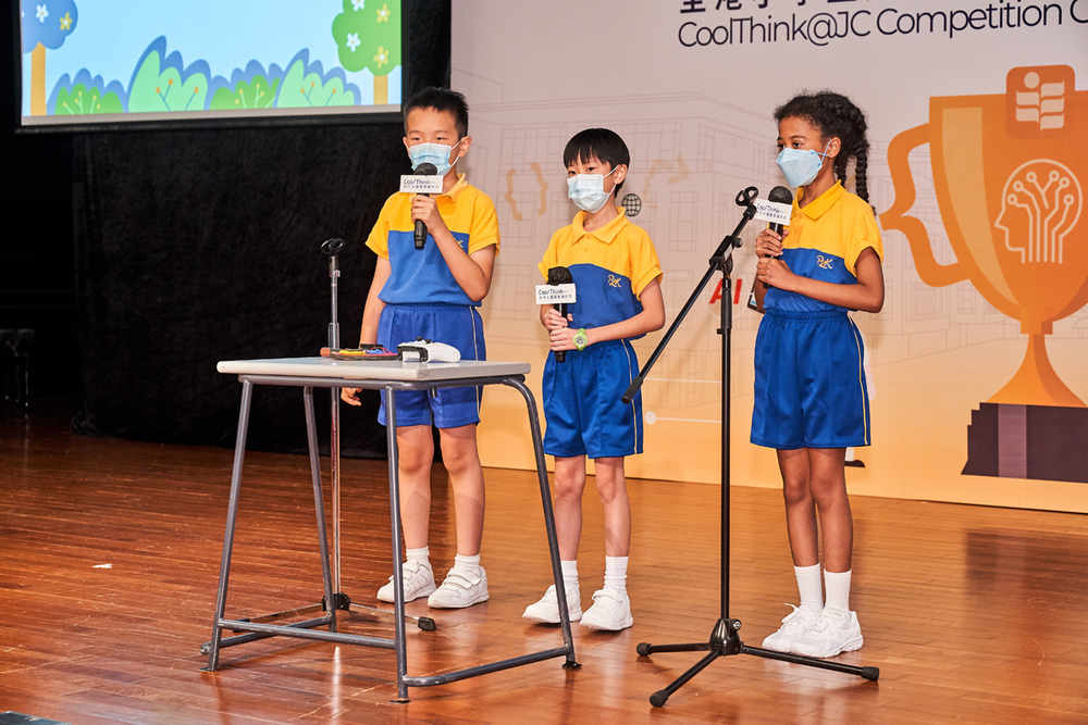 PLK Horizon East Primary School's Brain Fit team